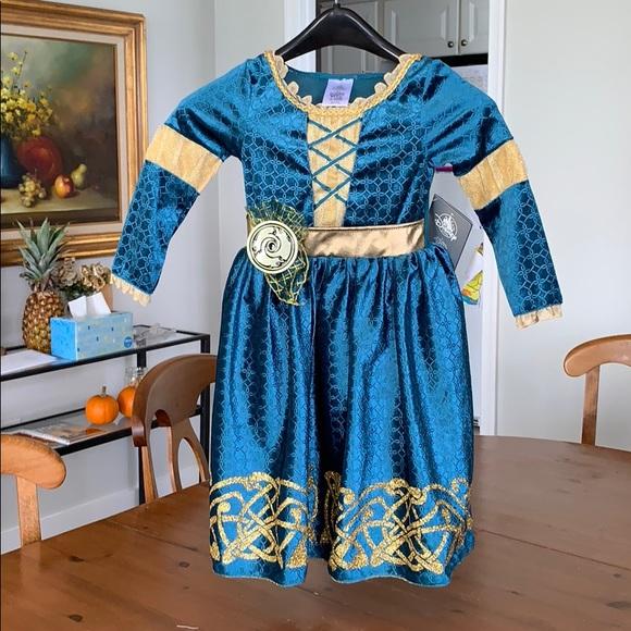 Disney Costumes New Halloween Costume Brave Merida 3t Poshmark
